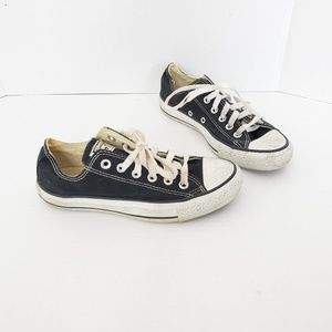 Converse Allstar Unisex Black Lowtop Sneaker Shoes